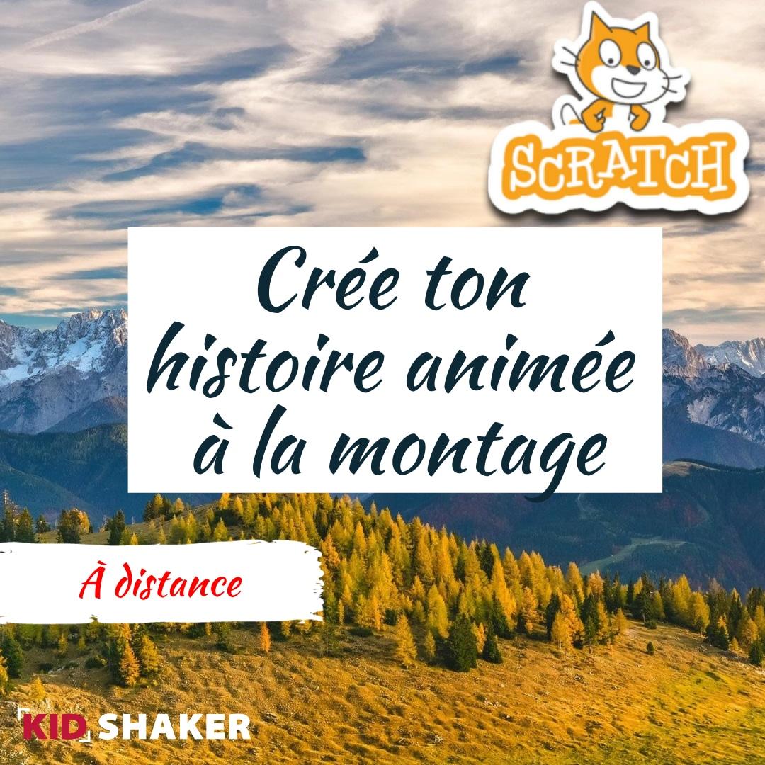 Activité enfant vacance KIDSHAKER - Crée ton histoire animée à la montagne