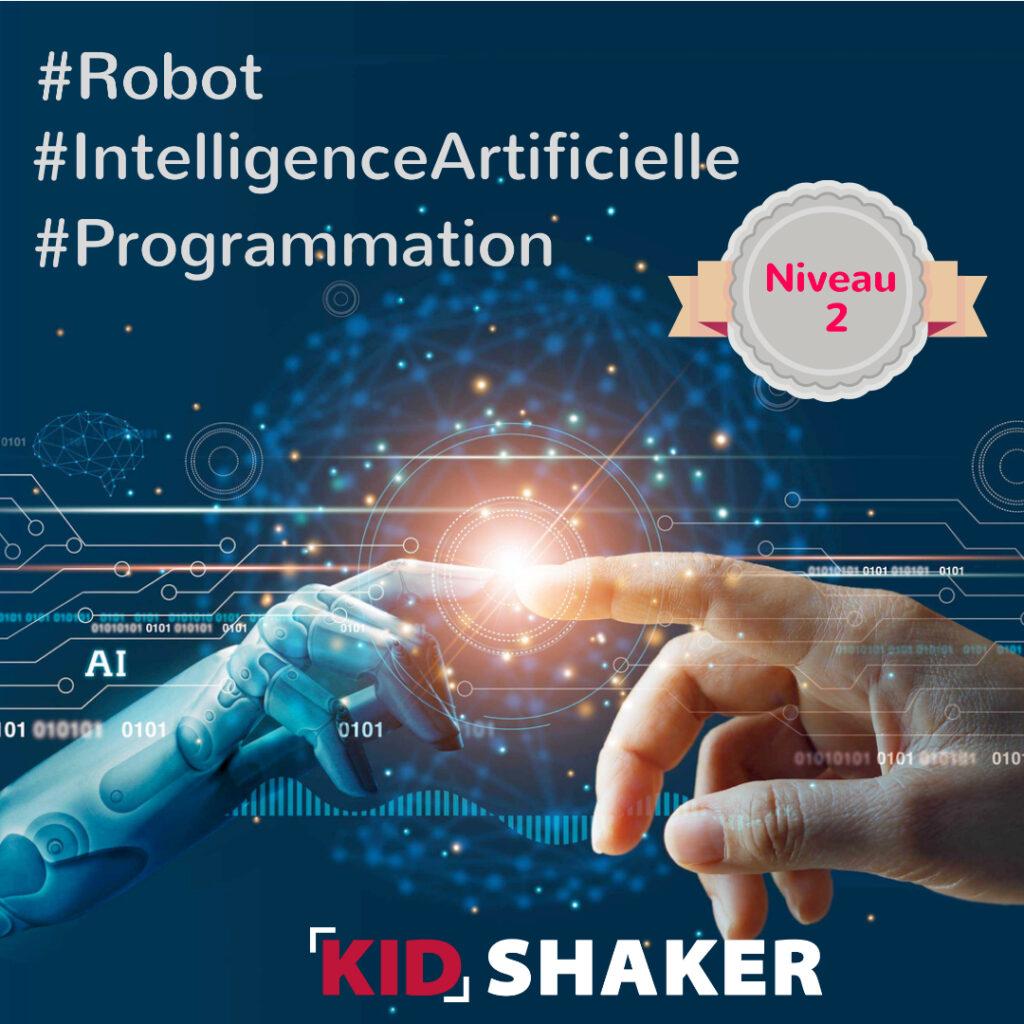 Cours particulier robotique intelligence artificielle kidshaker
