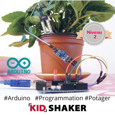 Ppotager connecté kidshaker arduino cours particulier