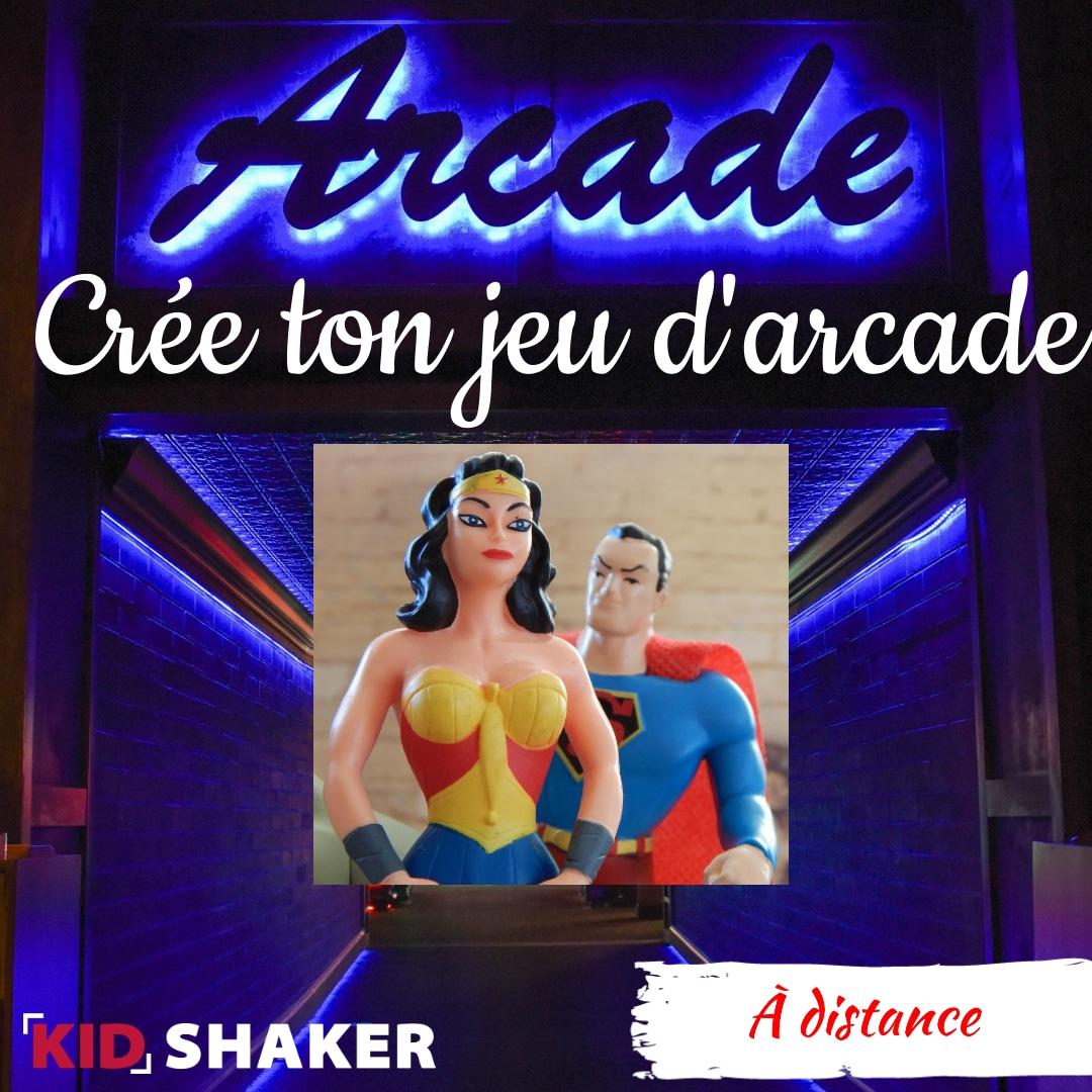 Activité enfant vacance KIDSHAKER -Crée ton jeu d'arcade