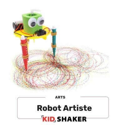 crée ton robot artiste centres de loisirs et écoles creatifs kidshaker