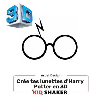 crée tes lunettes d'harry potter kidshaker enfant unique et creatif centres de loisirs et écoles