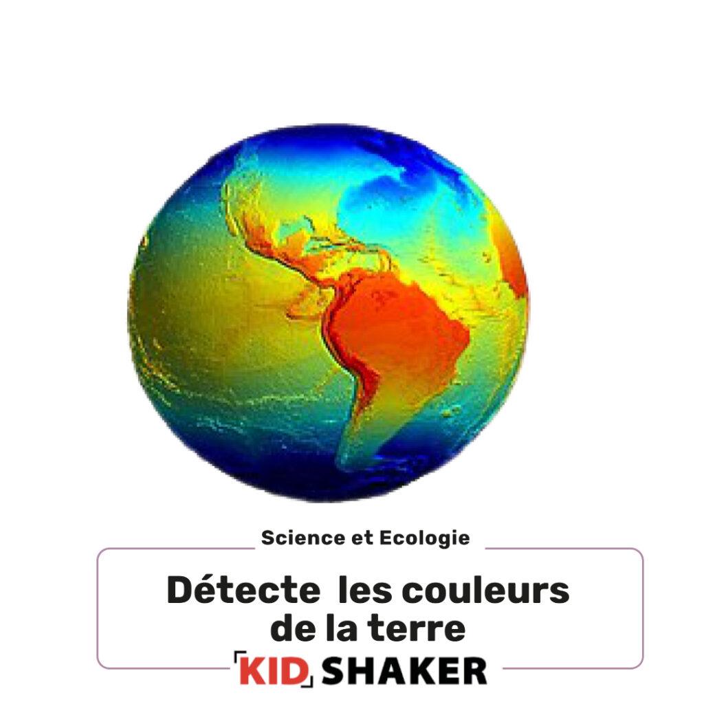 detecte les couleurs de la terre créatif unique amusant pour les centres de loisirs et les écoles