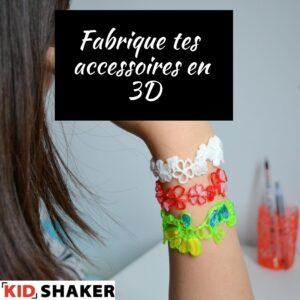 Fabrique tes bijoux - accessoires en 3D KIDSHAKER vacances
