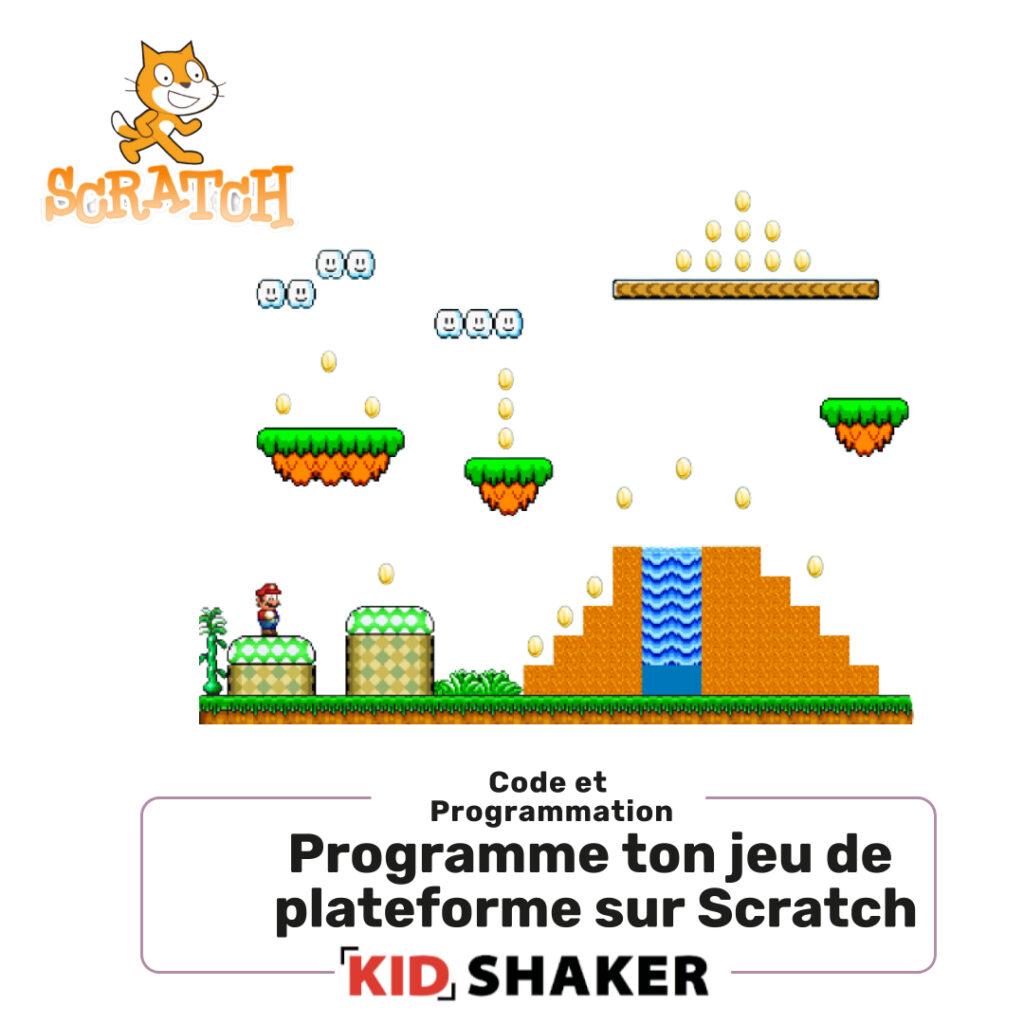 Programme ton jeu de platforme sur Scratch