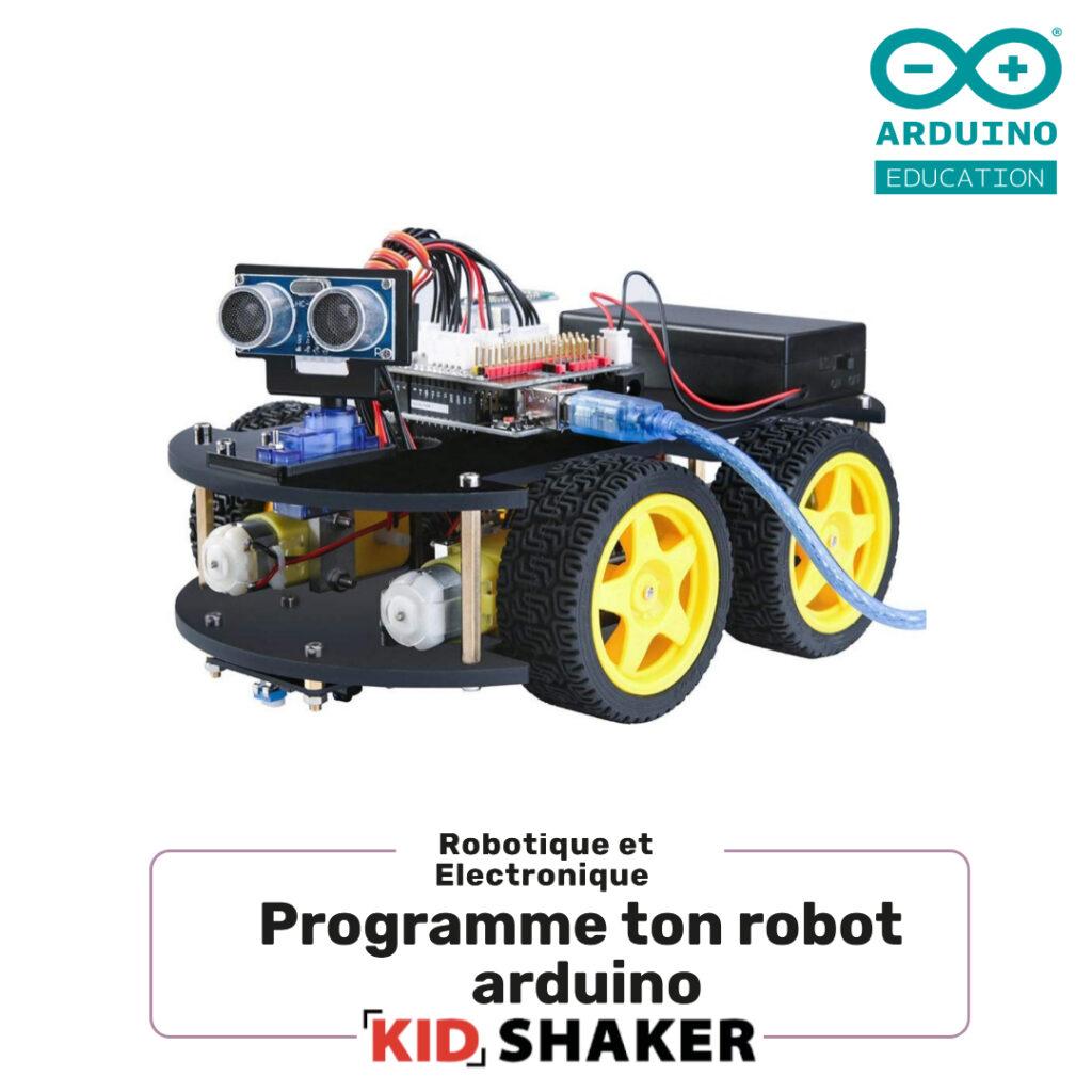 Programme ton robot arduino pour les centres de loisirs et les écoles créatif innovant unique