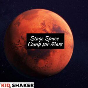 KIDSHAKER stage Space Camp sur Mars Intelligence Artificielle Robotique Mode Vêtements connectés Curiosity Potager connecté Réalité Virtuelle
