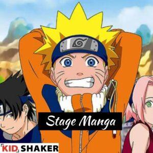 Stage Manga vacances pâques kidshaker