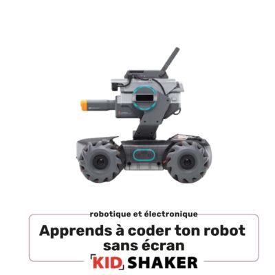 apprends a coder ton robot sans ecran enfant kidshaker unique et creatif