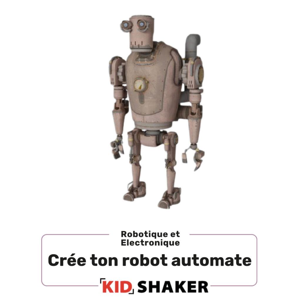 Robot automate,centre de loisirs et ecoles creatif unique s
