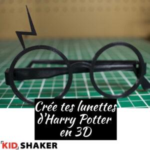 lunettes harry potter en 3D vacances de pâques KIDSHAKER