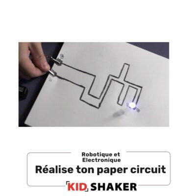 paper circuit centre de loisirs et écoles enfant creatif unique pour s'amuser
