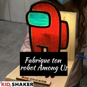 robot among us vacances de pâques kidshaker