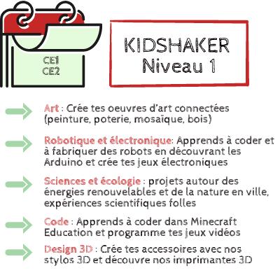 KIDSHAKER NIVEAU 1