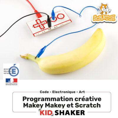 Programmation créative Makey-Makey et scratch