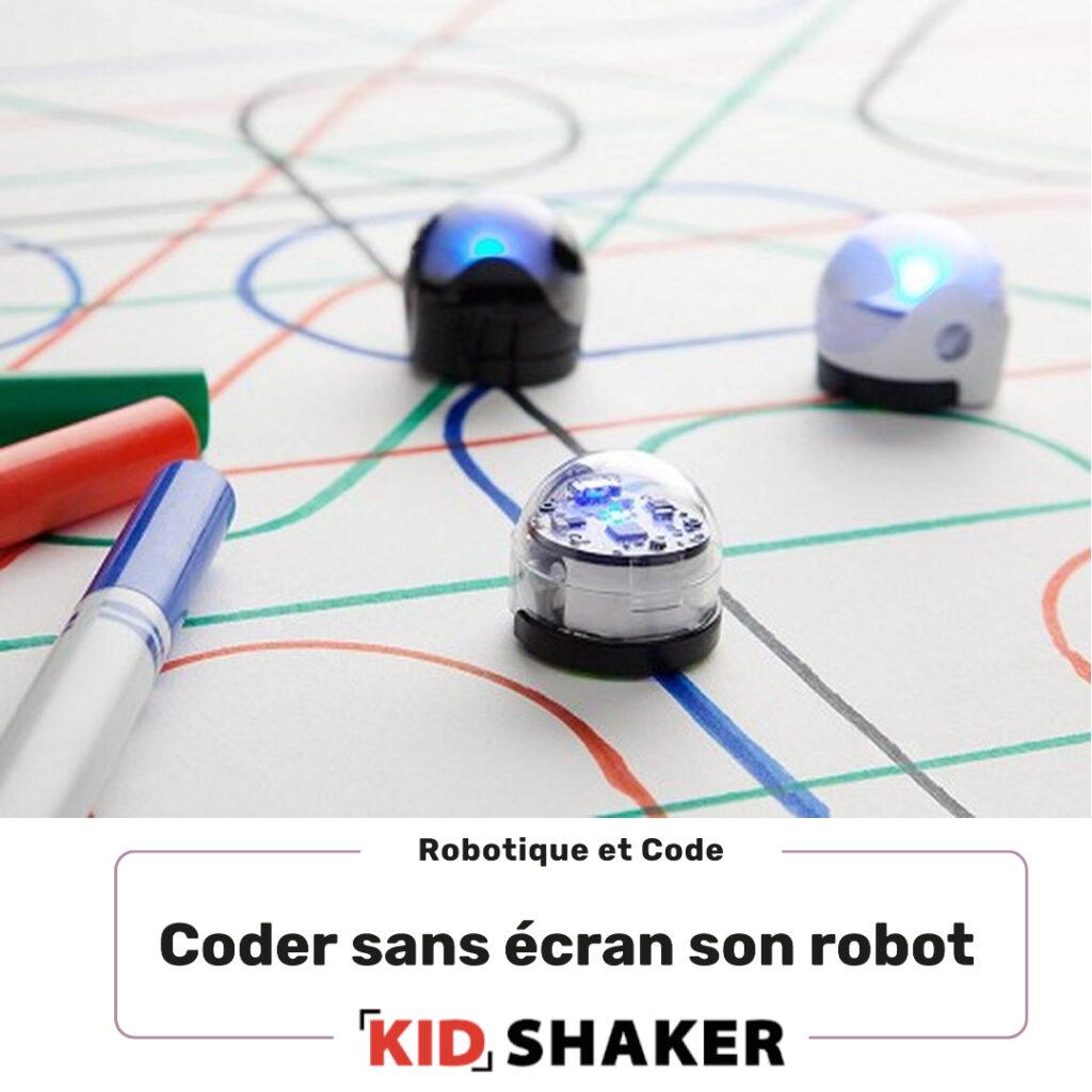Apprend a coder ton robot sans écran
