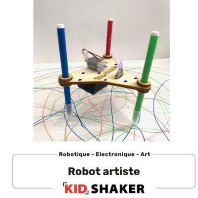 Robot artiste KIDSHAKER